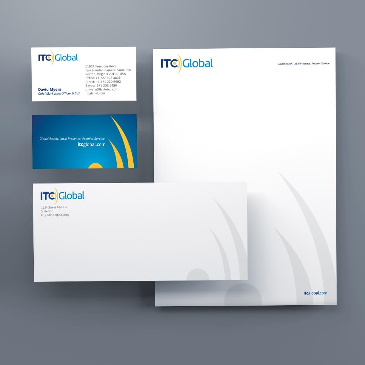 graphic itc global letterhead