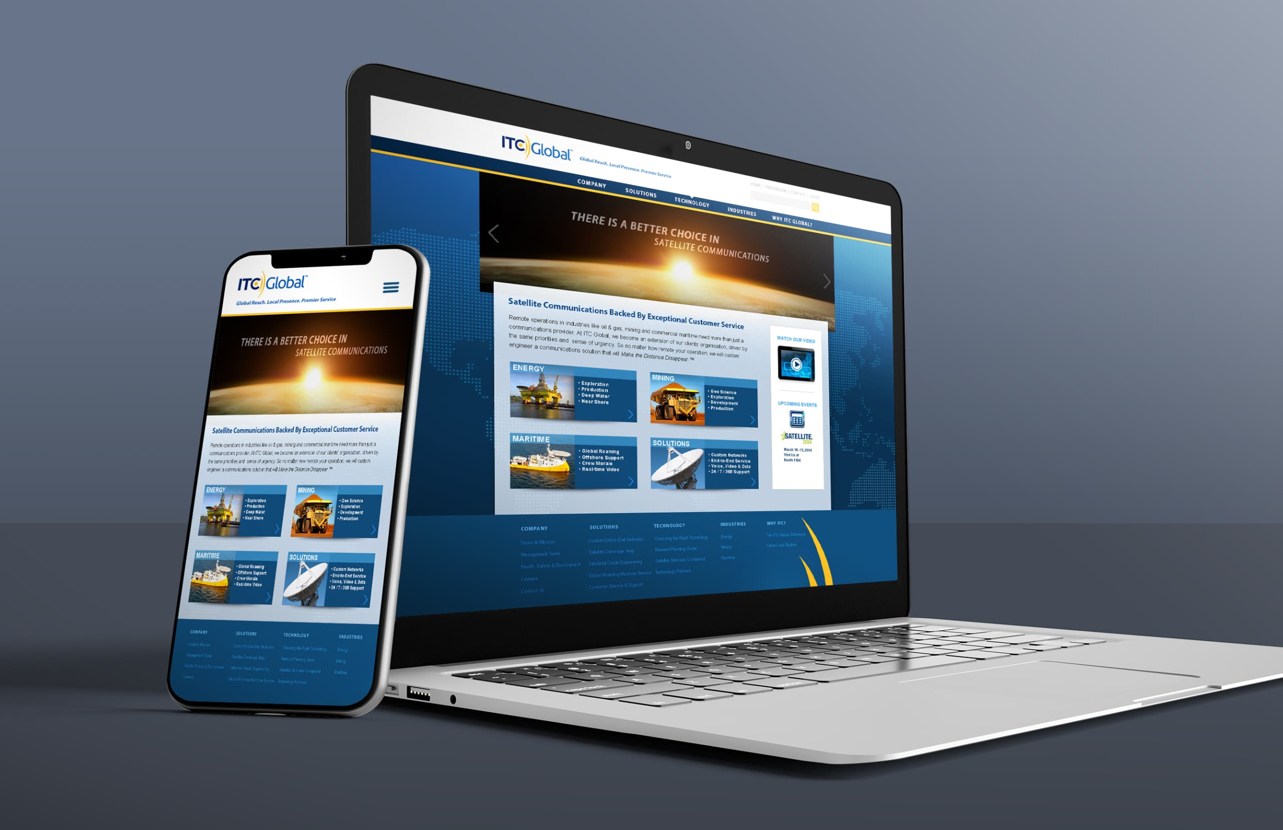 graphic itc global website